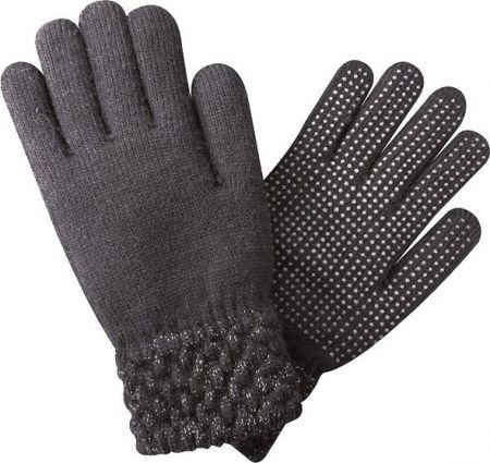 Handschoen met glitter unisize Grijs 1 maat nodig? - ruitershopbeerens.nl
