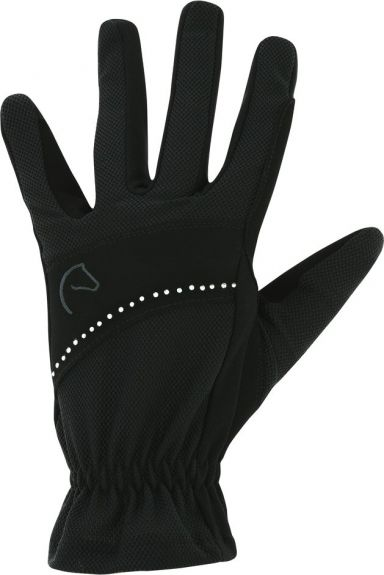 Equitheme stras zomer handschoenen. Zwart XS nodig? - ruitershopbeerens.nl