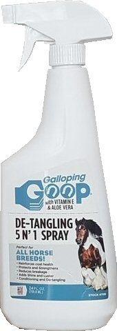 Galloping Goop DE-TRANGLING 5 N'1 SPRAY Kleurloos 750ML nodig? - ruitershopbeerens.nl