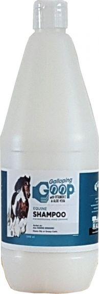 Galloping Goop Equine Shampoo verwijdert vuil en vlekken. Blank 1000ML nodig? - ruitershopbeerens.nl
