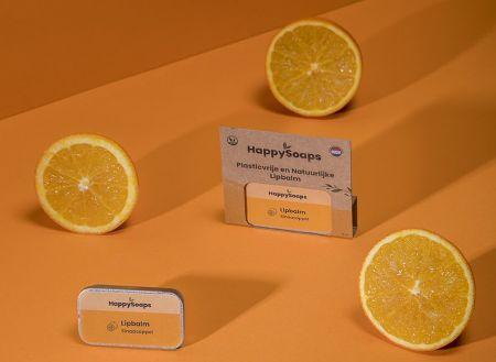 Plasticvrije en Natuurlijke Lipbalm - Sinaasappel Sinaasappel 10ml nodig? - ruitershopbeerens.nl