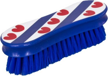 HB hoofdborstel zacht Fries boendermodel. Blauw 12,5x4cm nodig? - ruitershopbeerens.nl