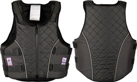 Harry's Horse Bodyprotector 4Safe. Zwart Junior L nodig? - ruitershopbeerens.nl