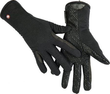Handschoen fleece en silicone Zwart S nodig? - ruitershopbeerens.nl