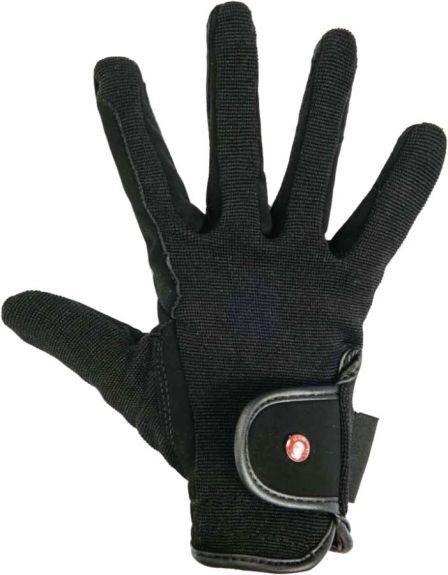 Handschoen kunstleer Zwart M nodig? - ruitershopbeerens.nl