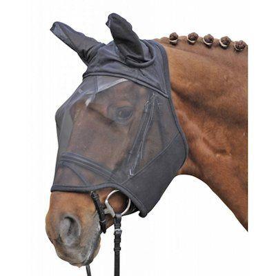 HKM Vliegenmasker Zwart Pony nodig? - ruitershopbeerens.nl