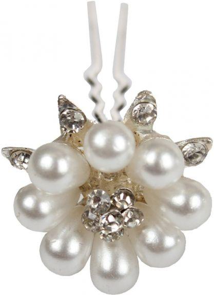 Haar pin Deluxe Zilver/pearl 1 maat nodig? - ruitershopbeerens.nl