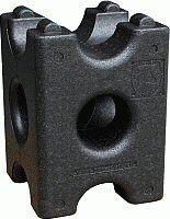 Hindernis- / Cavalletieblok Horse Cube Zwart 41,5x 30 x 30 cm nodig? - ruitershopbeerens.nl