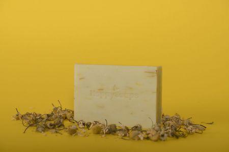 The Happy Soaps Handzeep - Haver, Calendula en Kamille Haver 100 gram nodig? - ruitershopbeerens.nl