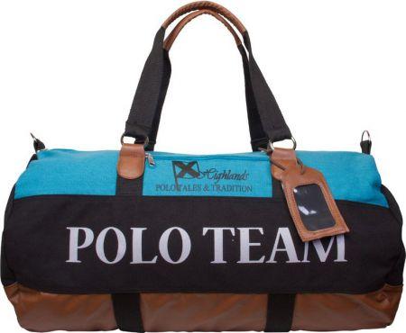 HV Polo Canvas sportbag XL Tirey Navy 60 x 25 x 30 cm nodig? - ruitershopbeerens.nl