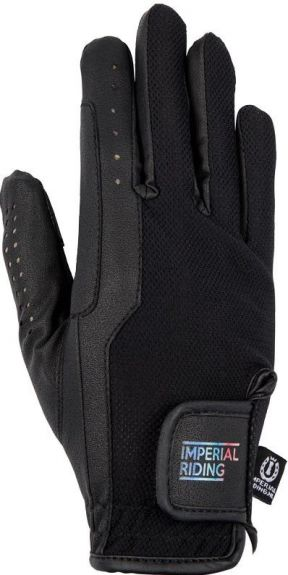 IR Handschoen Damiro Zwart XL nodig? - ruitershopbeerens.nl