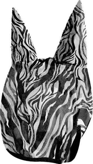 Vliegenmasker Zebra Zebra print Full nodig? - ruitershopbeerens.nl
