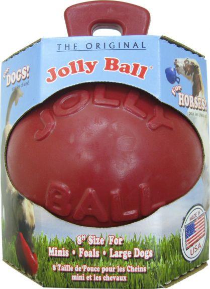 Jolly Ball Rood 20cm (8 inch) nodig? - ruitershopbeerens.nl