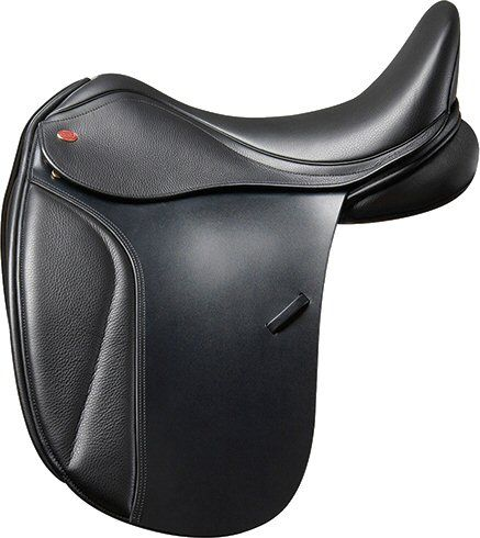 Kent en Masters S-line Dressuurzadel Low Profile Zwart 17,5 inch nodig? - ruitershopbeerens.nl