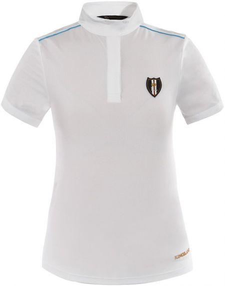 Kingsland Dames wedstrijdshirt Pescara Wit S nodig? - ruitershopbeerens.nl