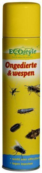 Ongedierte en Wespen Spray - 400 ML nodig? - ruitershopbeerens.nl