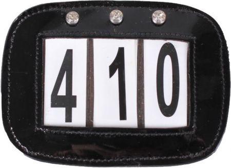 QHP Startnummers Set Zwart 1 maat nodig? - ruitershopbeerens.nl