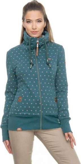 Ragwear vest Rylie Bluebell Zipp Green L nodig? - ruitershopbeerens.nl