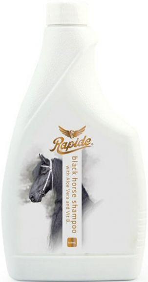 Rapide Black Horse Shampoo Zwart 500 ml nodig? - ruitershopbeerens.nl