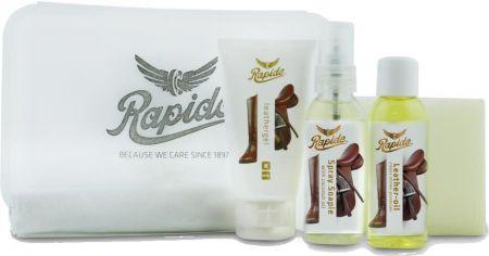 Rapide Leather and saddle care kit. Kleurloos NX nodig? - ruitershopbeerens.nl