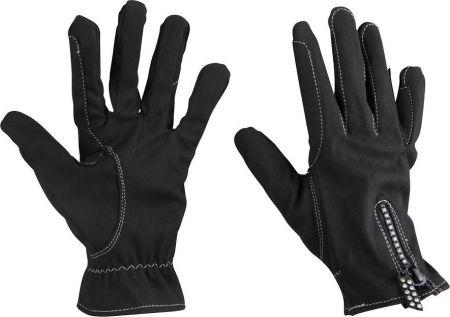Redhorse Handschoenen Glitter Zwart 10 nodig? - ruitershopbeerens.nl