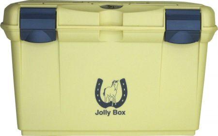 IR Poetskist Jolly Box Middel Beige / Blauw 34 x 20 x 24 cm nodig? - ruitershopbeerens.nl