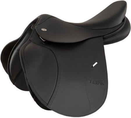 TEKNA Veelzijdigheidszadel S-LINE QC pony gp Zwart 15,5 inch nodig? - ruitershopbeerens.nl
