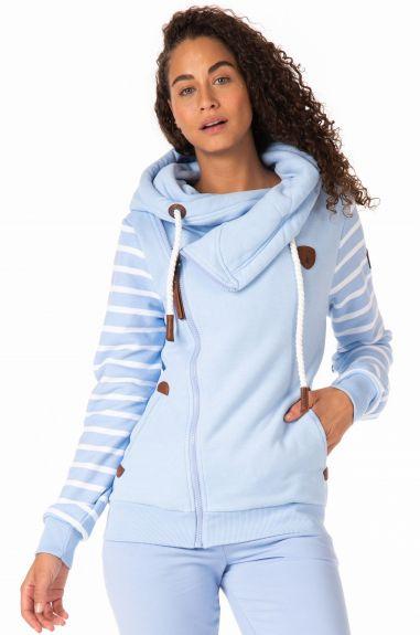 Wanakome vest Athena Print Baby Blue Jay S nodig? - ruitershopbeerens.nl